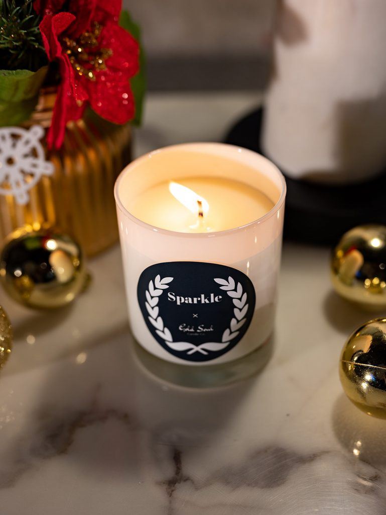 Sparkle, the best holiday candles 2020