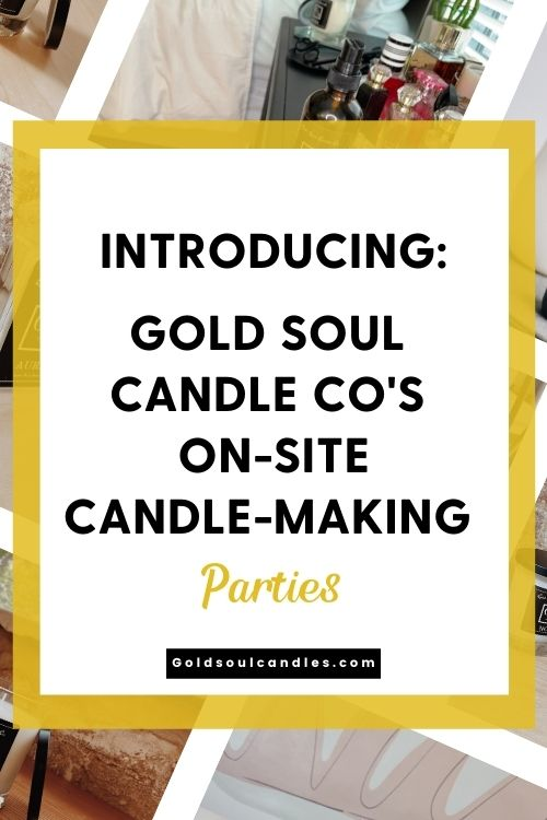 Candle Making Parties Pin